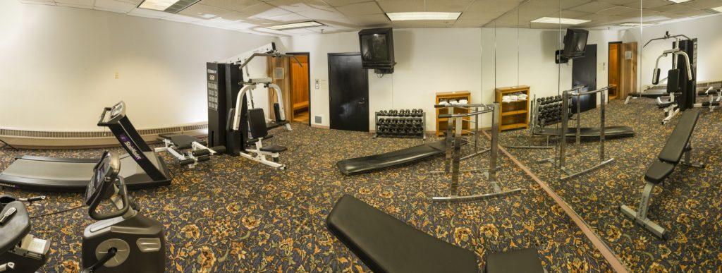 Bangor/Orono room amenities Fitness Center | Amenities | Black Bear Inn Orono